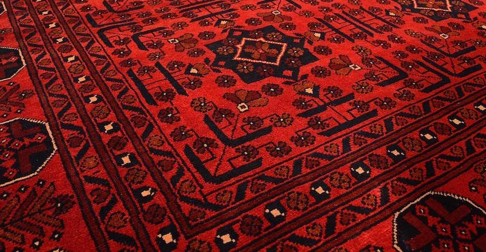Afghan Khal Mohammadi Rugs from Northern Afghanistan in Gul and Fil-pai designs.