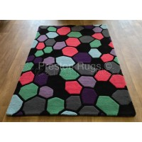 Aspire Wool Rug - Causeway Multi-colour-120x170