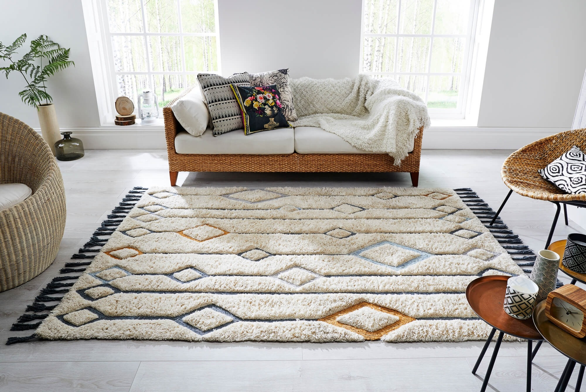 Solitaire Luxmi Rugs by Flair Rugs