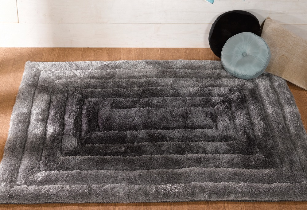 Verge Carved Shaggy Rug By Flair Rugs