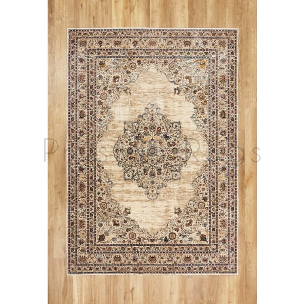 Alhambra Traditional Rug - 6345c ivory/beige