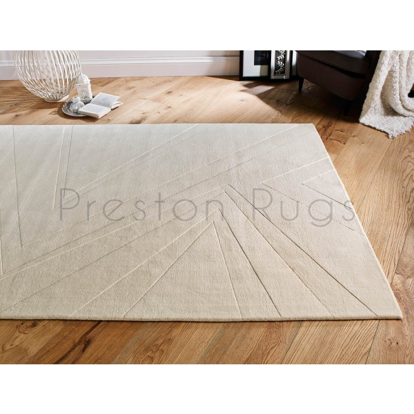 "Essence Linear Rug - Cream-140 x 200 cm (4'7"" x 6'7"")"