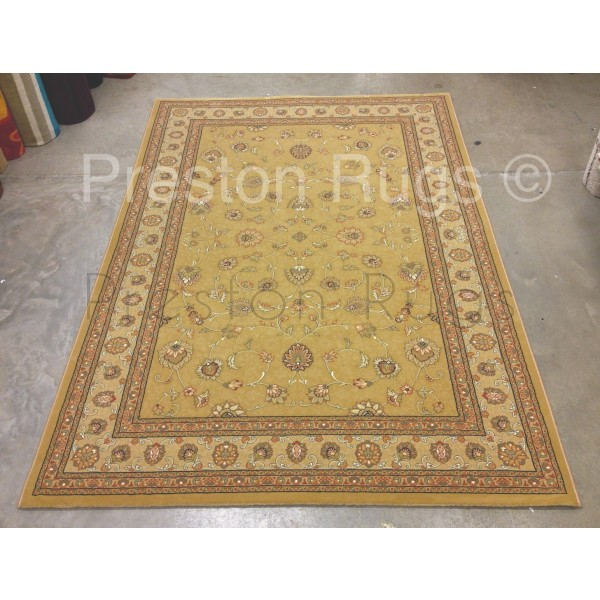 Noble Art Traditional Persian Style Rug - Gold Beige Cream 6529/790-80x160