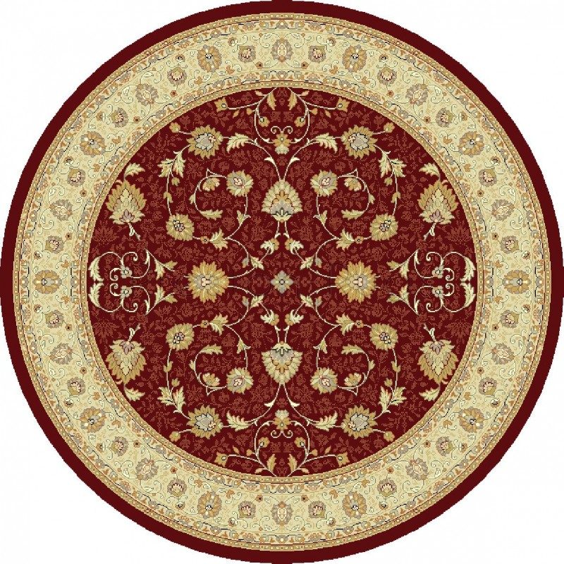Noble Art Traditional Persian Style Rug Red Beige Cream