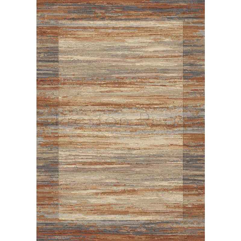 Galleria Rug Border Multi Beige 79138 6888