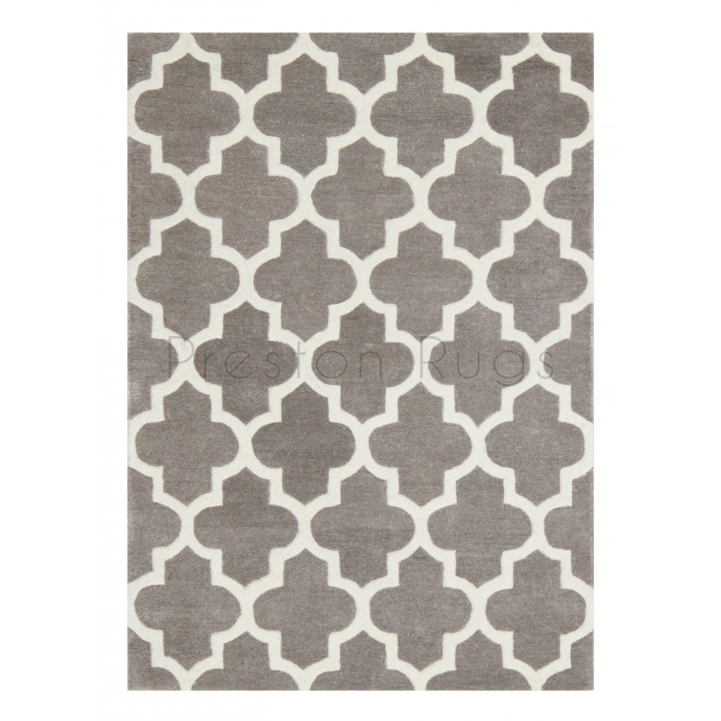 Arabesque Moroccan Pattern Wool Rug