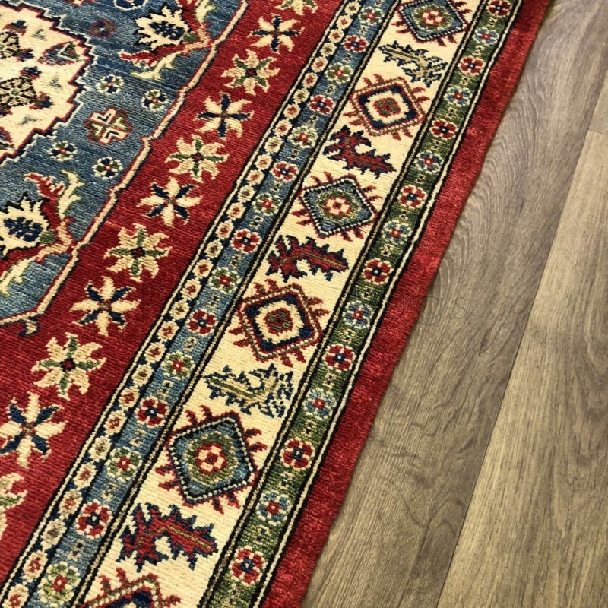 Afghan Kazak Rug: Afghan Yakash Kazak Rug