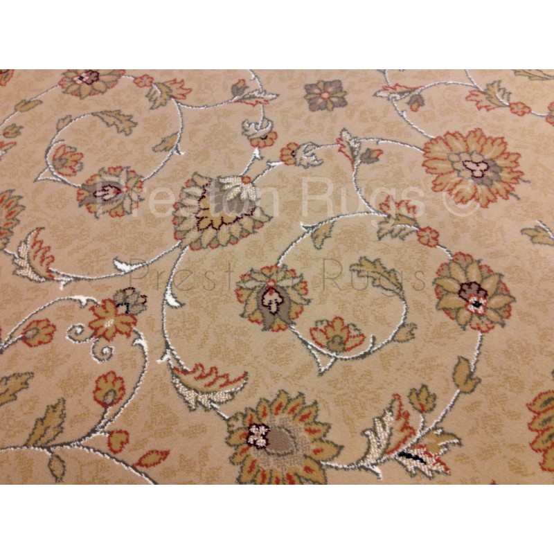Noble Art Traditional Persian Style Rug Beige Cream Red