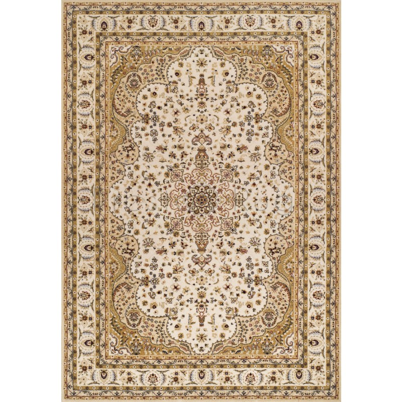 Royal Classic Traditional Persian Design Ivory Beige Rug