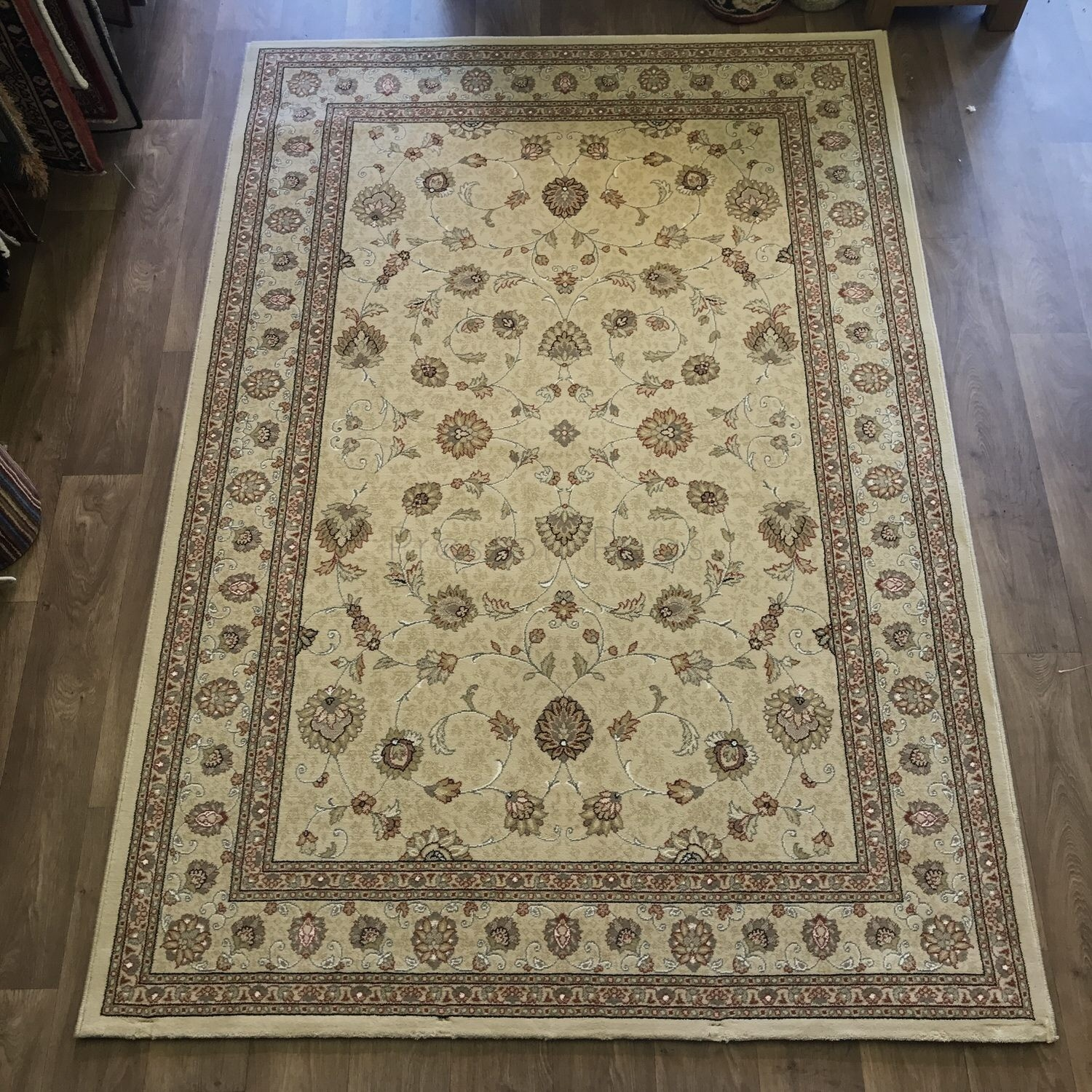 Size 2 7 X6 2 Agra Rug India: Noble Art Traditional Persian Style Rug