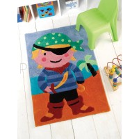 Kiddy Play Pirate Children's Rug