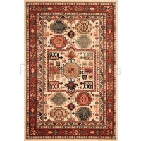 Kashqai Traditional Persian Design Rug - 4306/100