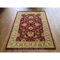 Kendra Traditional Rug - Ispahan Red 45M