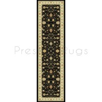 Noble Art Traditional Persian Style Rug - Black Beige 6529/090-Runner 67x240