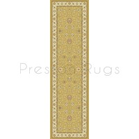 Noble Art Traditional Persian Style Rug - Gold Beige Cream 6529/790-Runner 67x240