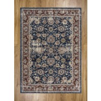 Alhambra Traditional Rug - 6549a d.blue/d.blue