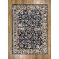 Alhambra Traditional Rug - 6549a l.blue/d.blue