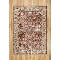 Alhambra Traditional Rug - 6549a red/red