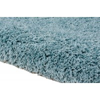Amore Luxury Shaggy Rug - Aqua