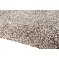 Amore Luxury Shaggy Rug - Stone