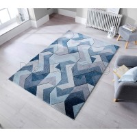 Aurora Rug - Denim Blue