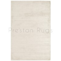 Bellagio Fine Stripe Textures Rug - White