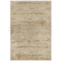 Dolce Plain Viscose Rug in Gold