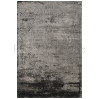 Dolce Plain Viscose Rug in Graphite