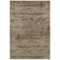 Dolce Plain Viscose Rug in Taupe