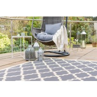 "Florence Alfresco Padua Rug - Beige Anthracite - Size 120 x 170 cm (4' x 5'7"")"