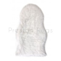 Faux Sheepskin - White