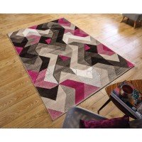 Aurora Rug - Grey Purple