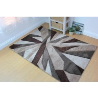 Shatter Rug - Beige Brown