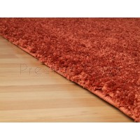"Harmony Shaggy Rug - Orange-60 x 120 cm (2' x 3'11"")"