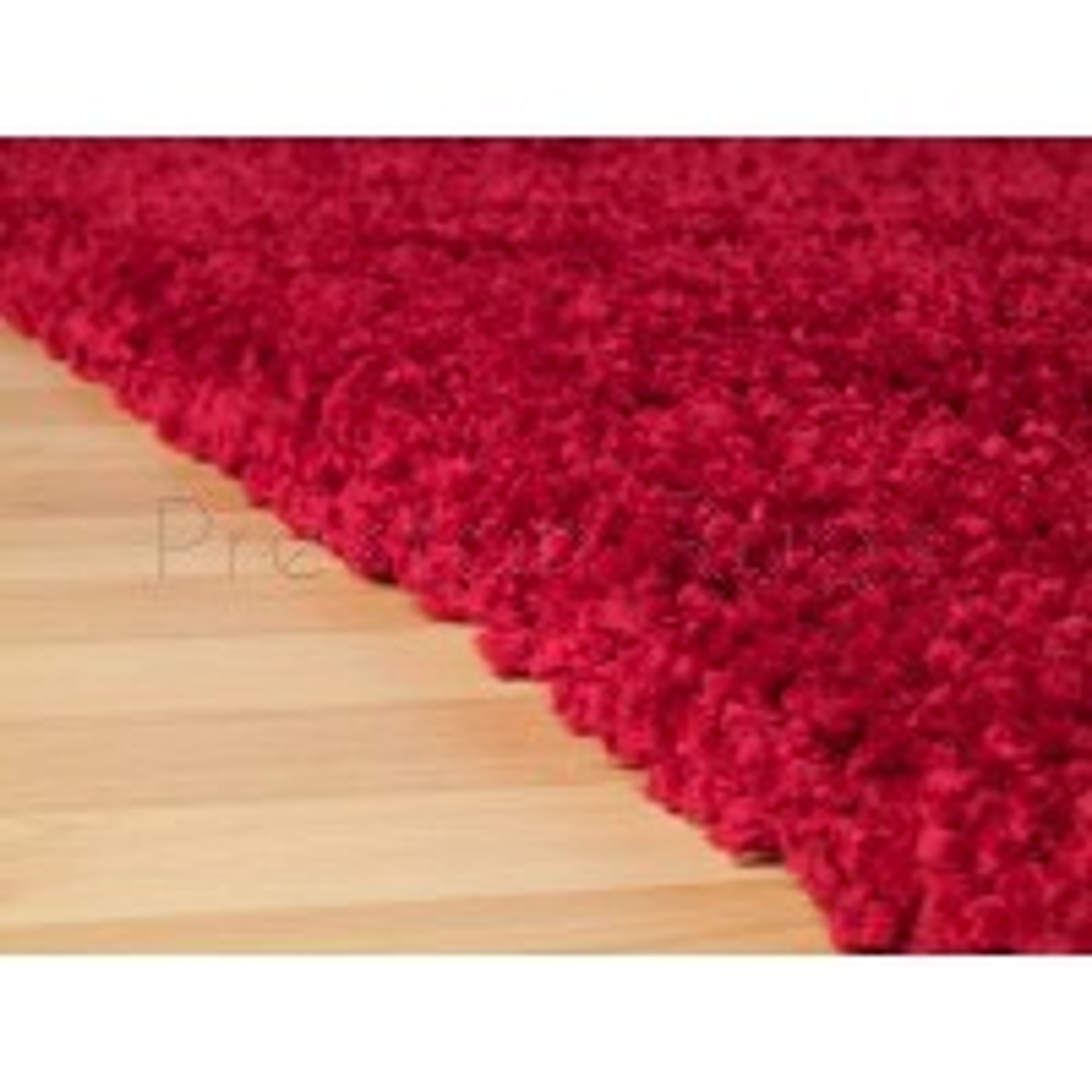 "Harmony Shaggy Rug - Red-60 x 120 cm (2' x 3'11"")"