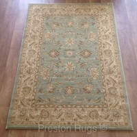 Ziegler Traditional Agra Design Rug - 7709 Green
