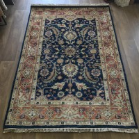 Indo Heriz Hand-knotted Rug - 123 x 188 cm