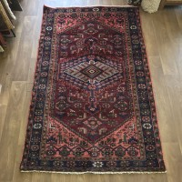 Persian Hamadan Carpet Rug 125 x 210 cm