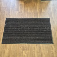 Ribbed Barrier Unity Door Mat - Brown (90 x 150 cm)