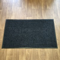 Ribbed Barrier Unity Door Mat - Charcoal (90 x 150 cm)