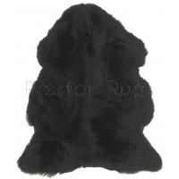 British Sheepskin Rug  - Black