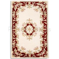 Jewel Rug Cream Red JWL04-120x180