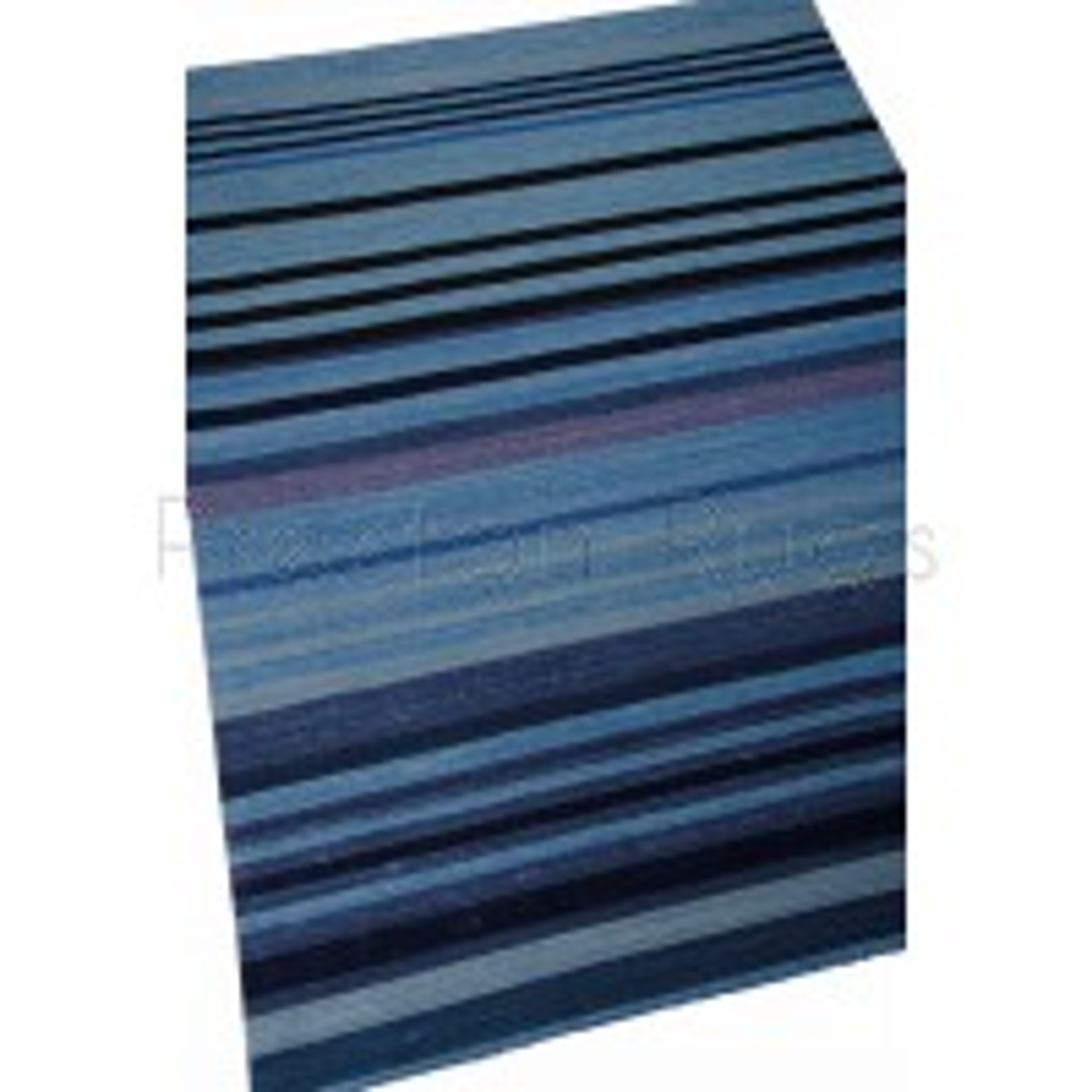 Griot Stripe Rug - Ngoma - KI801 Indigo-122 x 183 cm (4' x 6')