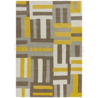 Matrix Rug - 17 Code Yellow