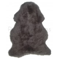 British Sheepskin Rug  - Mink Brown