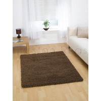 Nordic Cariboo Shaggy Rug - Brown