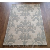 "iLiv Palladio Natural Damask Rug-120 x 170 cm (4' x 5'7"")"