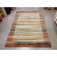 Galleria Rug - Border Multi Beige 79138/6888