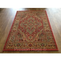 Ziegler Traditional Persian Design Rug - 8788 Red