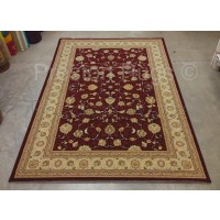 Noble Art Traditional Persian Agra Design Rug - Red Beige Cream 6529/391